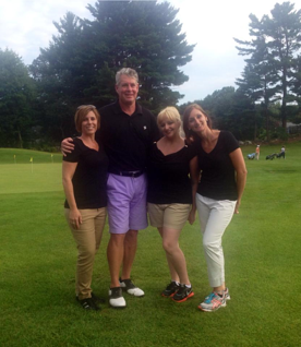 Wayne Guyer and his Wiffers at the Elliot Whittier Insurance Agency of Winthrop & Danvers outing at Middleton Golf Course