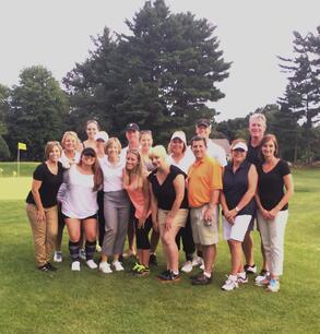 Elliot Whittier Insurance of Danvers an Winthrop Massachusetts summer outing at Middleton Golf
