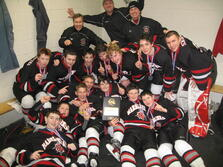 Steve Roy, CEO Assistant Coach to the Marblehead Youth Hockey Bantam AA's March 2012