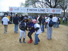 Chris Millerick at the National Epilepsy Walk in Washington DC in March 2011