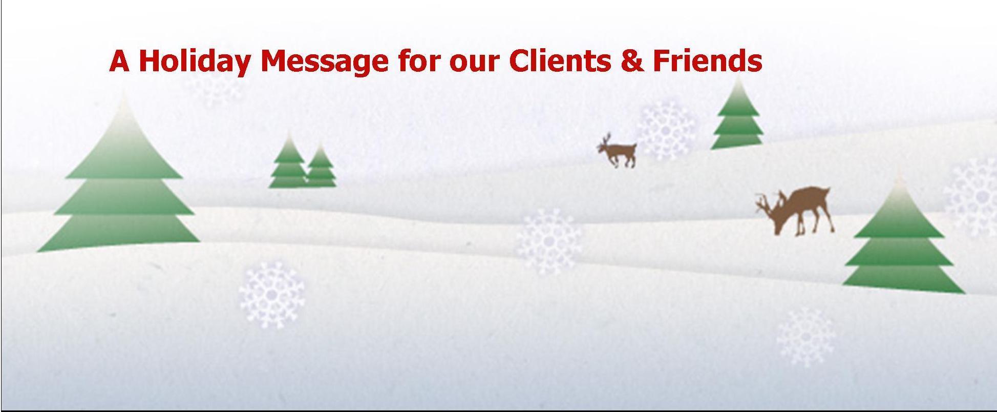 Happy Holidays from Elliot Whittier Insurance!
