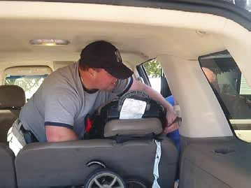 Elliot Whittier Urges Caretakers to Get Their Car Seats Inspected.