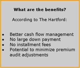 What are the benefits of pay as you go workers comp
