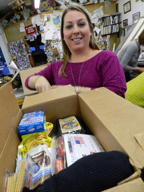 Erica Citro Honan Packages for the Troops Project