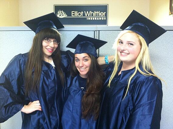 Angelica Tabitha and Ariana Graduate picture
