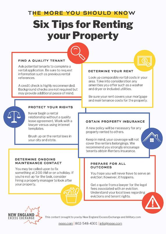 6 Tips for Renting Your Property