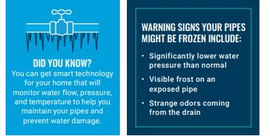 Andover Frozen Pipes did you know