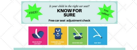 Infant and child car seat check winthrop massachusetts 2017