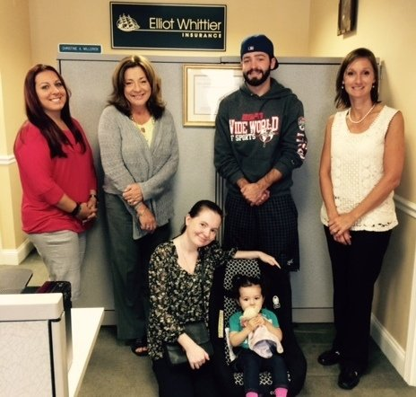 Elliot Whittier Car Seat Inspection Day Raffle Winners the Rodas-McSharry family