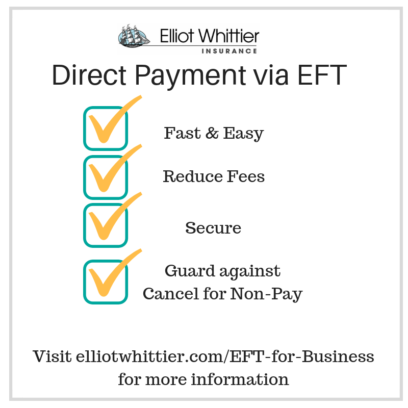 How Business clients can pay their insurance bill using EFT