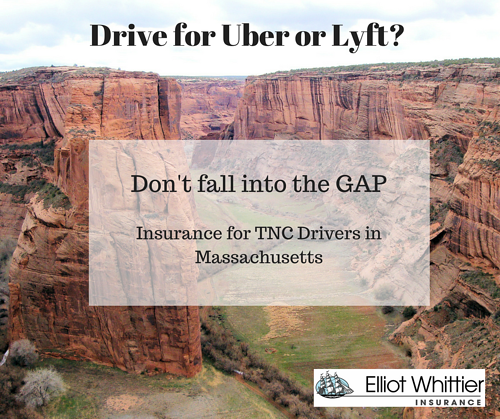 Does my Massachusetts Car Insurance cover me while I drive for Uber or Lyft - find out.