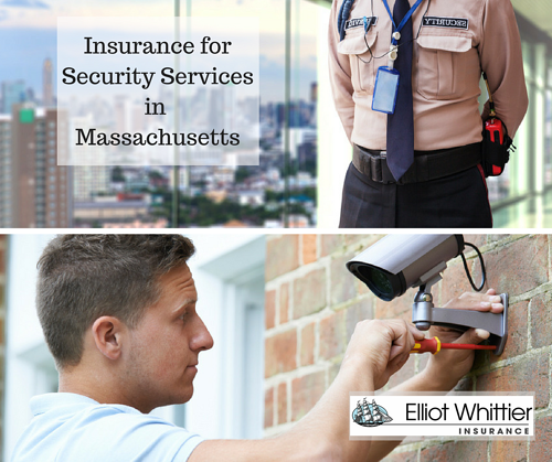 Insurance for Security Services in Massachusetts images purchased from Fotolia