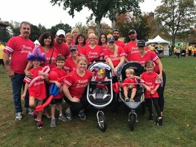 Joyce Keller Buddy Walk 2017 in support of the Massachusetts Down Syndrome Congress