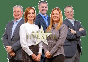 Leadership at Elliot Whittier Insurance Wayne Guyer Steve Roy Andrew Bierschied Amy Olevitz and Casey Correa