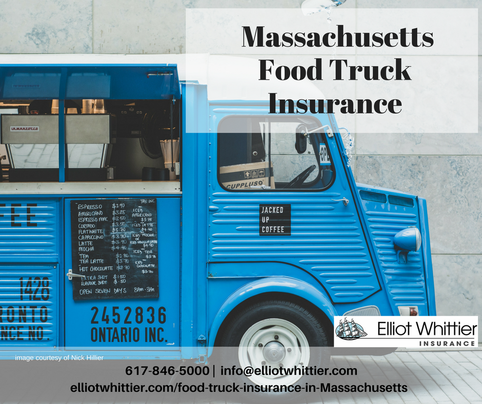 Food Truck Insurance in Massachusetts from Elliot Whittier Insurance