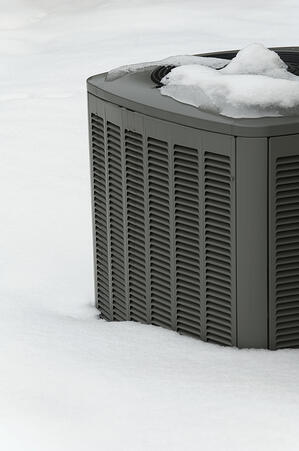 HVAC system in snow. Get the coverage you need for any conditions.
