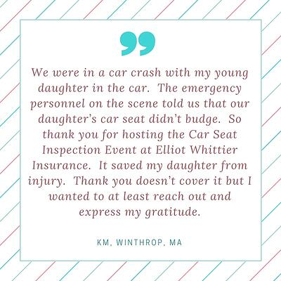 We were in a car crash with my young daughter in the car. Rev 2