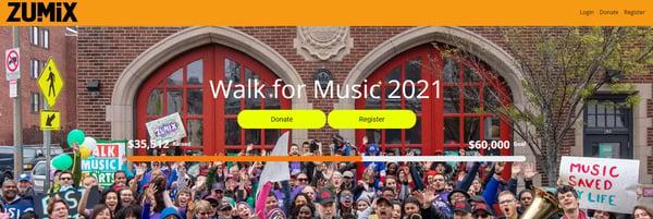 ZUMIX Walk for MUSIC 2021