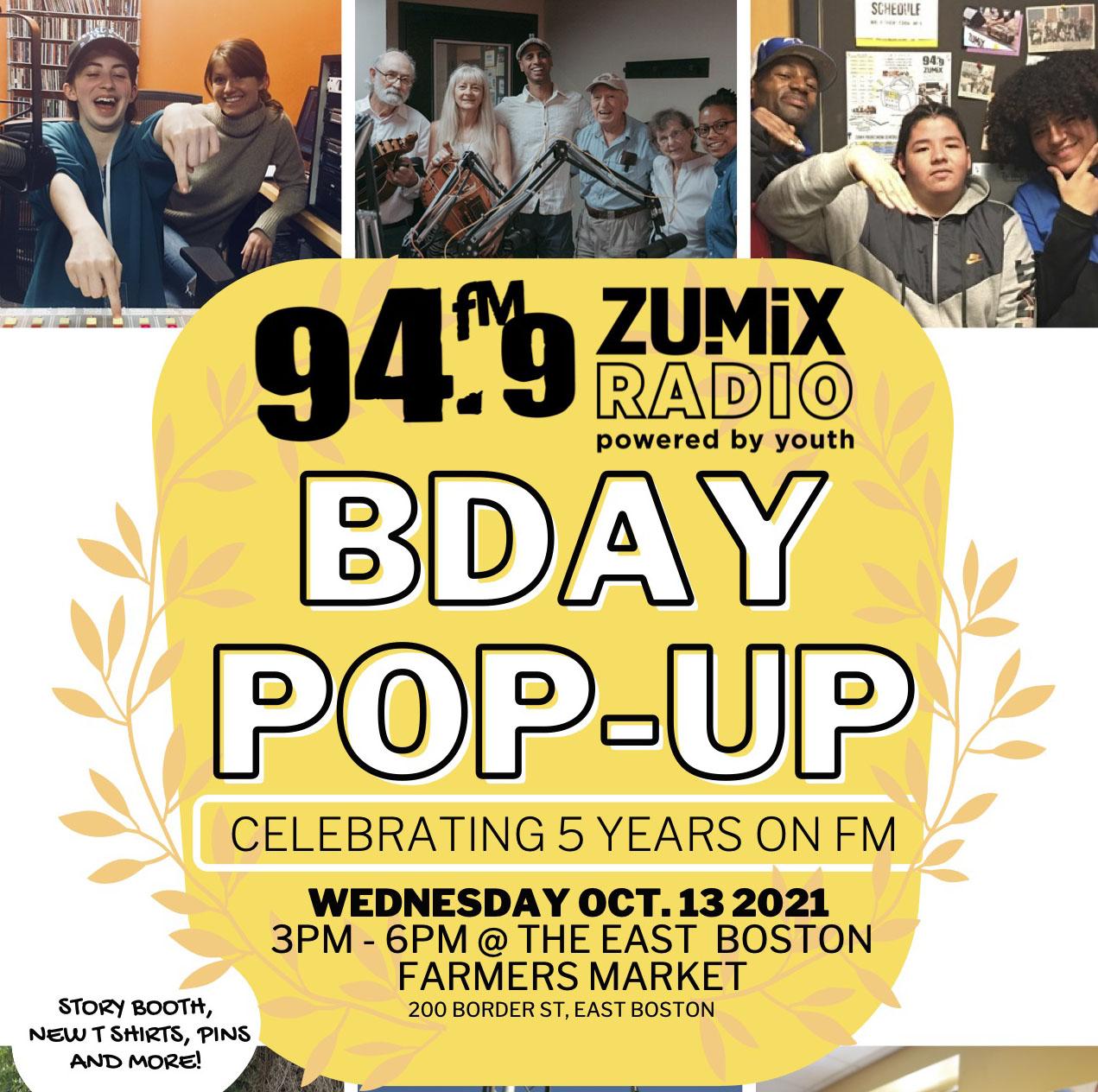 ZUMIX Radio celebrates 5 Years on the air